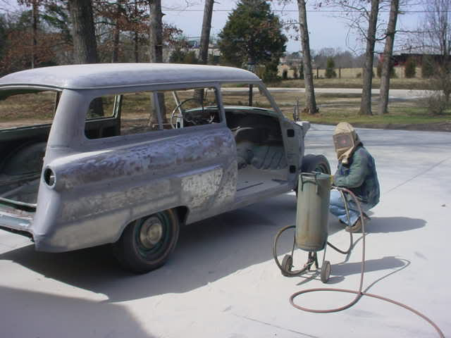 What Media To Use For Sandblasting A Car Frame