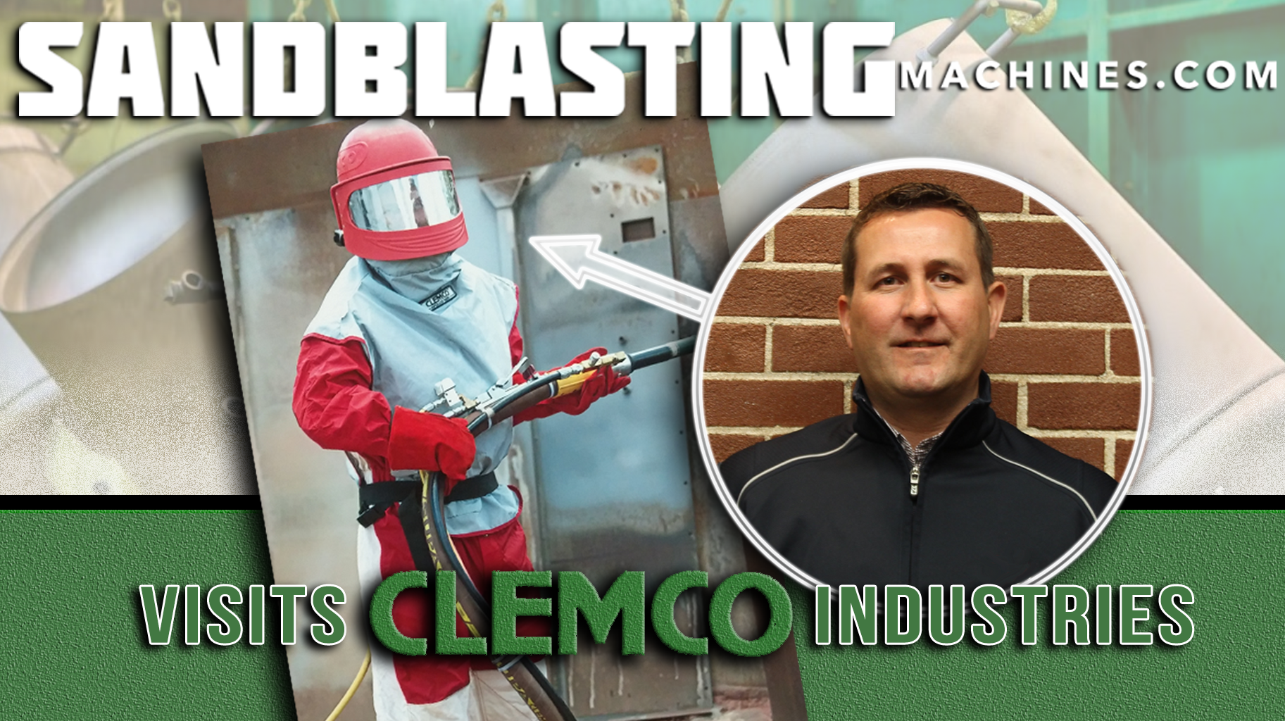 Clemco Industries Blast Cabinets John Visits Clemco Industries Day 1