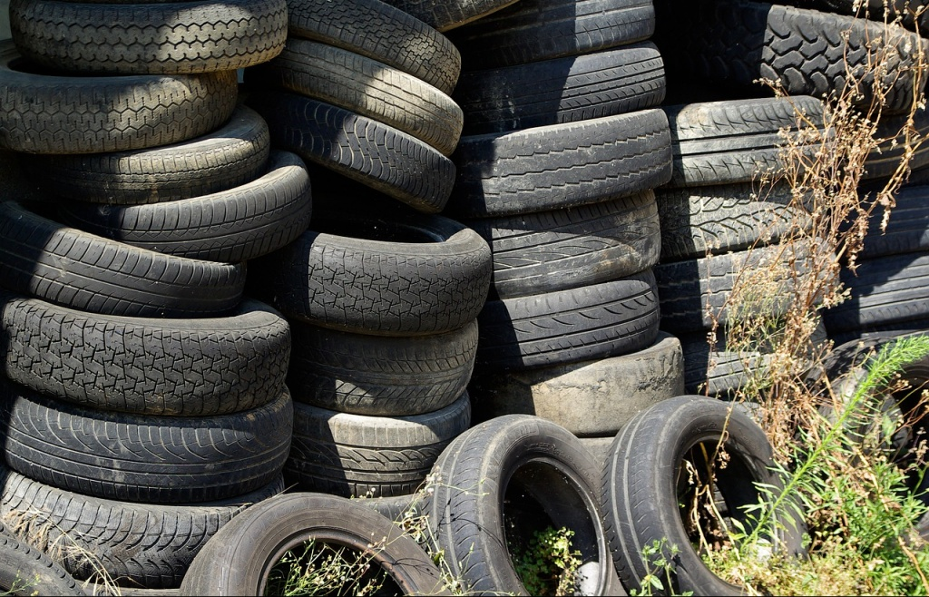 tires car recycling