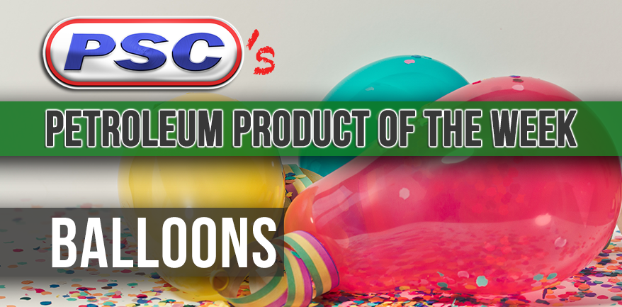 Petroleum Product of the Week: Rubber Party Balloons