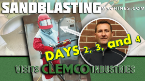 John Visits Clemco Industries: Days 2, 3, 4