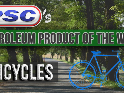 Petroleum Product of the Week: Bicycles