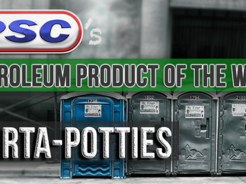 Petroleum Product of the Week: Porta-Potties