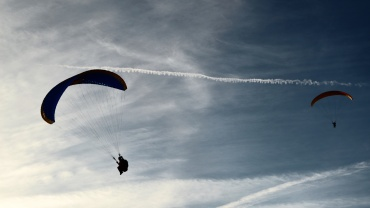 Could a Nylon Parachute Deliver Your Amazon Order?