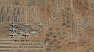 Satellite Imagery Shows World's Largest Aircraft Graveyard